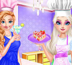 Frozen Sisters Afternoon Tea Cooking